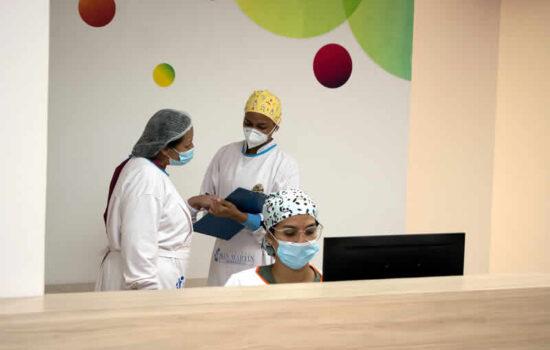 clinica san martin barranquilla organigrama